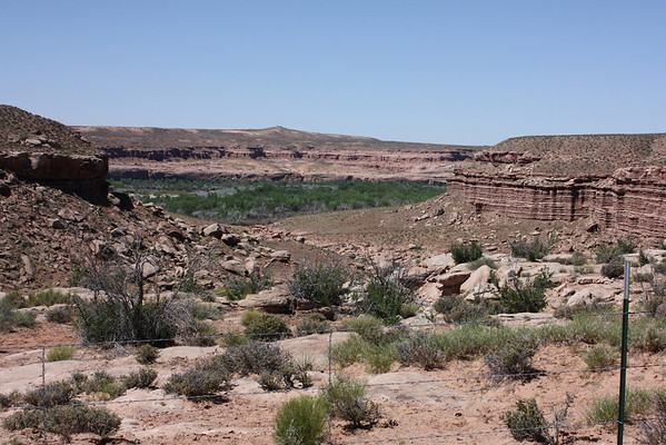 Driving through southern Utah