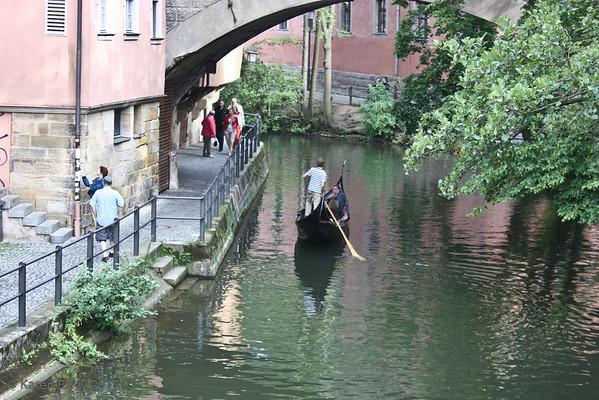 Gondolier in Bamberg