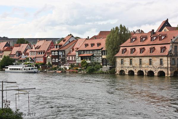Houses on the Regnitz