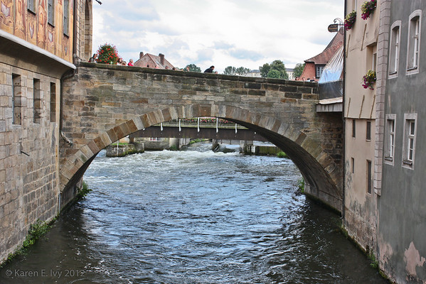 Upper bridge over the Regnitz