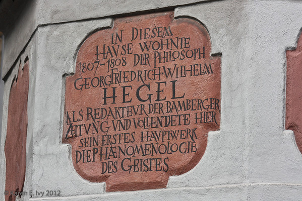 Hegel's house