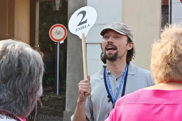 Miroslav, our guide
