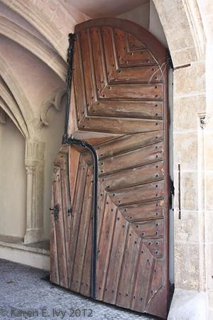 Door, Bratislava Old Town Hall