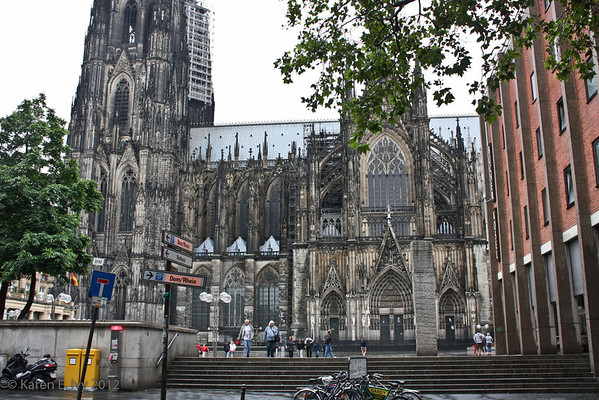 South side of Cologne DOM