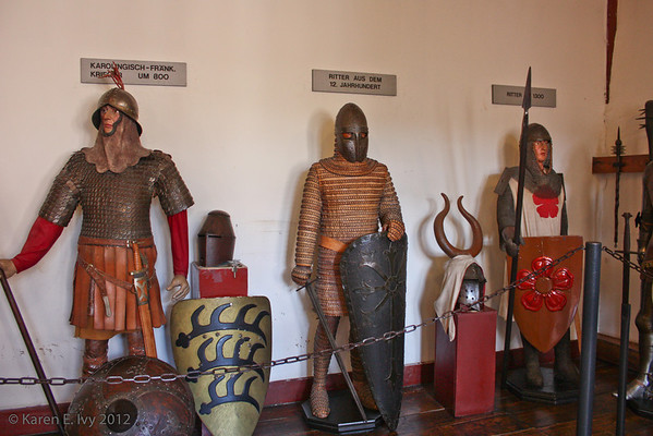 Early armor, German continental