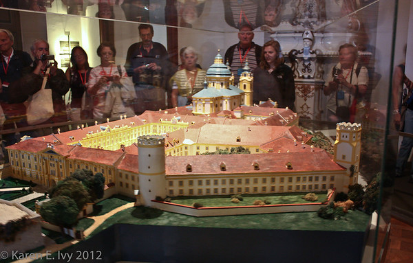 Scale model, Melk Abbey