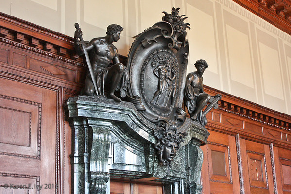 Nuremberg courtroom doorway