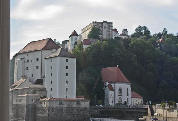 Veste Oberhaus and Veste Niederhaus