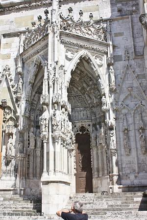 Entrance to Regensburg Dom