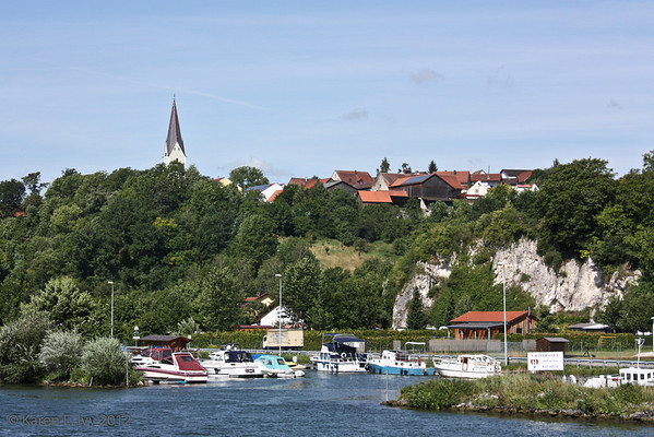 Town along the Danube