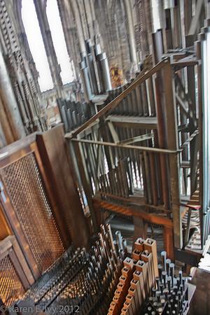 St. Stephen's organ, details