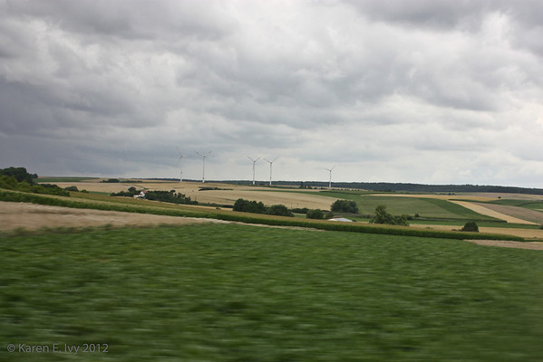 On the road to Rothenburg