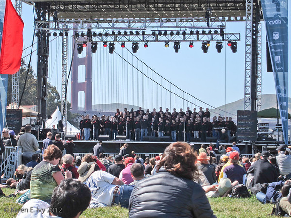 San Francisco Gay Men's Chorus, Crissy Field Stage