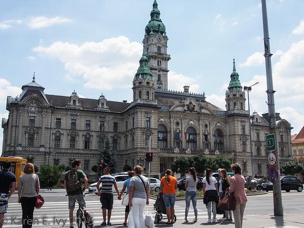 Town hall, Györ, Hungary