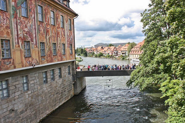 Altes Rathaus on the Regnitz