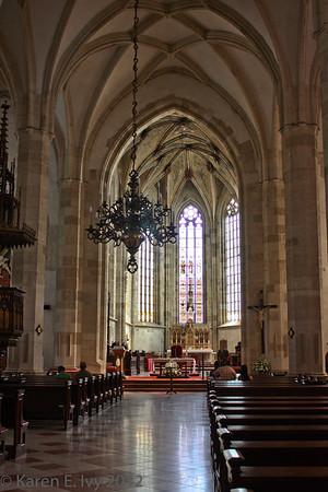Interior nave, St. Martin's, Bratislava