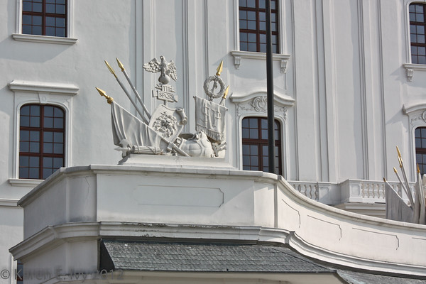 Reconstructed Roman trophy, Bratislava Castle