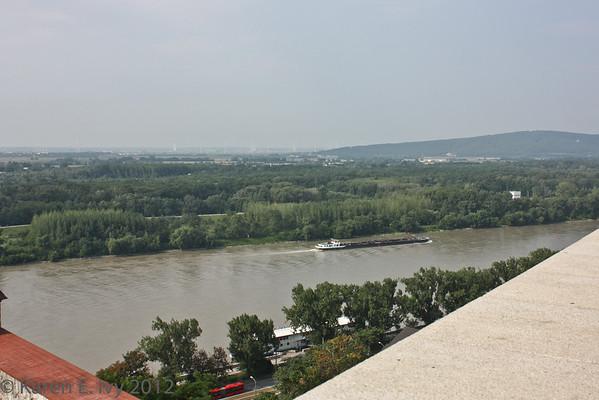 Bratislava across the Danube
