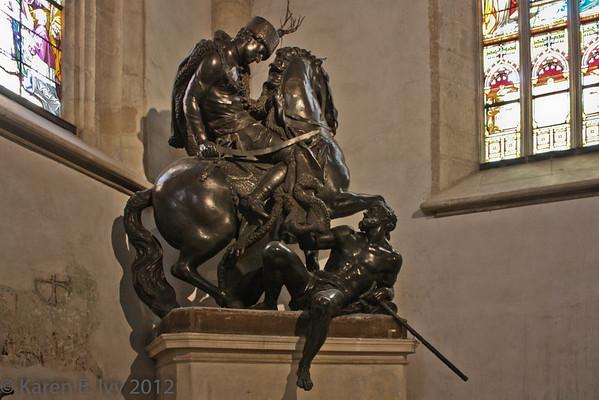 St. Martin giving his cloak to a beggar