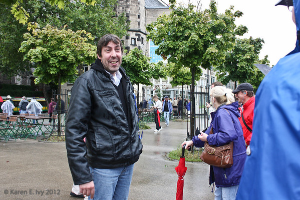 Our guide in Cologne