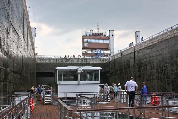 Lock in the Gabčíkovo Dam, Slovakia