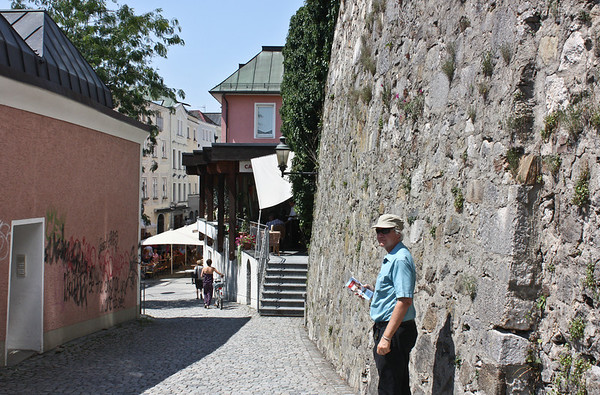 Walking through Passau