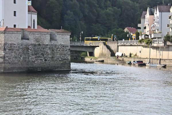 Veste Niederhaus, Ilz River