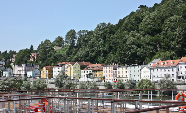 Along the Danube in Passau