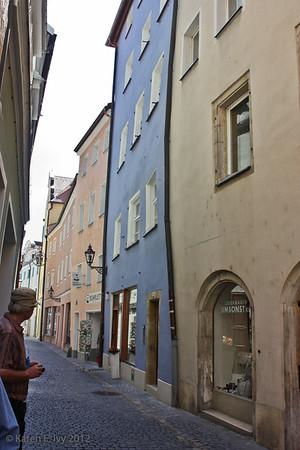 Old street, Regensburg