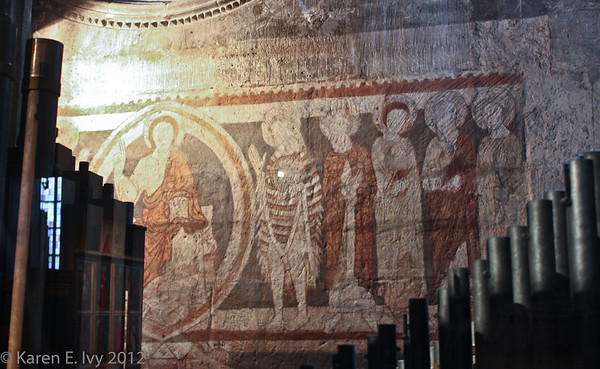 St. Stephen's, early medieval fresco