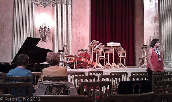Small concert hall